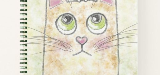 Cute Cat Mouse Art Illustration Digital Art - Gift Products for Cat Lovers