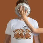 Funny Monkey Sibling Cartoon | Merchandise Products