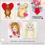 LOVE CARDS – Postcards and Greeting Cards