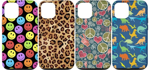 Novelty Design Phone Cases with our Fun, Cute, Unique, and original Pattern designs