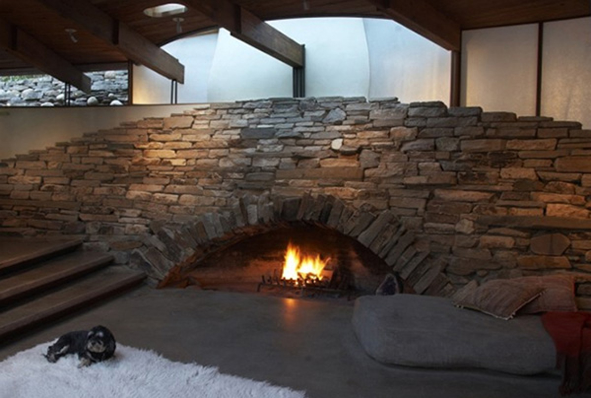Unique Stone Fireplace Ideas