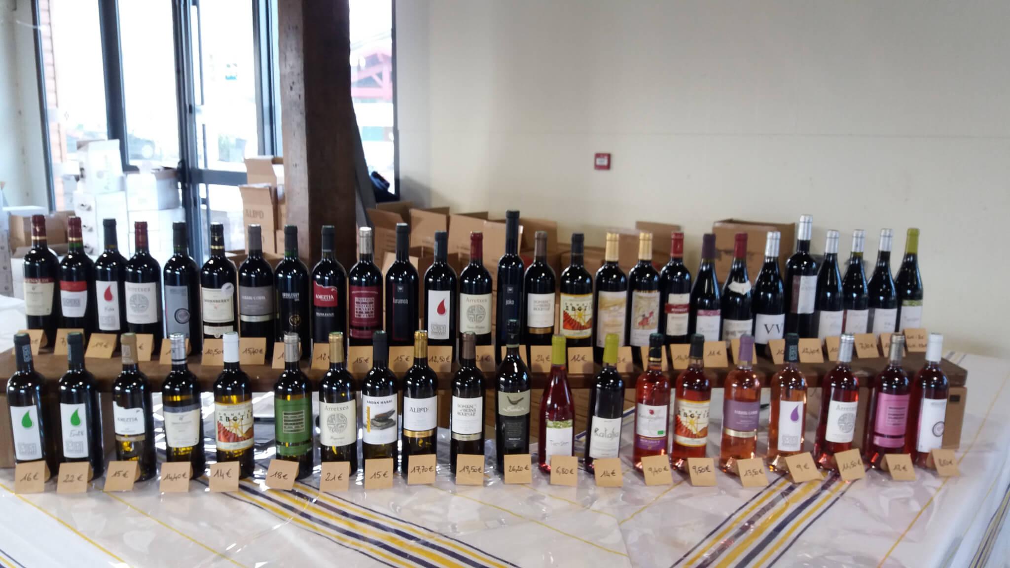 Salon professionnel des vins d'Irouléguy