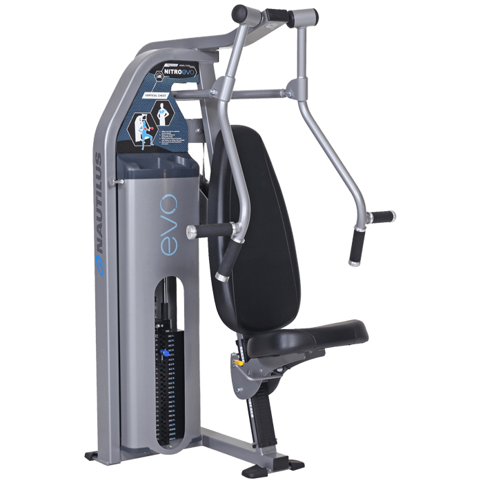 Vertical Chest Press: Nautilus Evo Vertical Chest