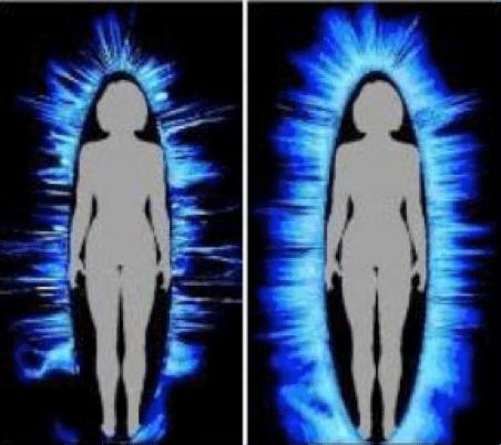 Resultado de imagem para human energy field photography