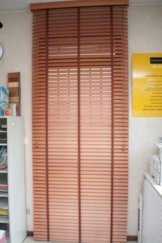 Tende veneziane personalizzate in alluminio simil legno per finestre e porte. Tende Veneziane Verona Tapparelle Valentini