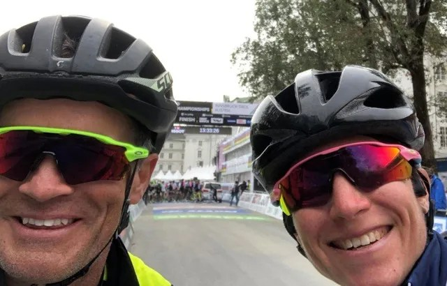 Amber Neben and Tim Cusick at Worlds