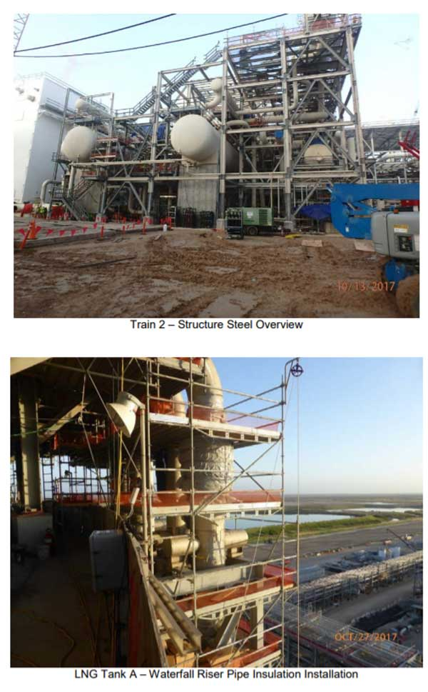 Corpus Christi Liquefaction October 2017 Monthly Progress Report