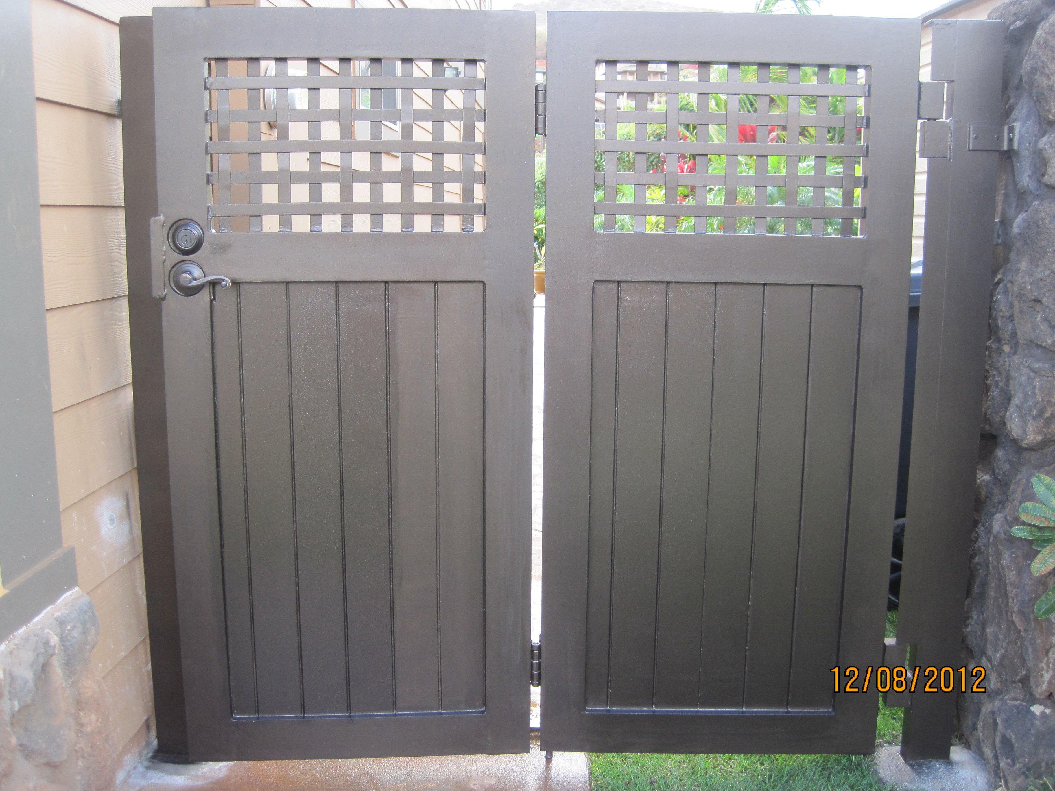 Custom Fences And Gates Gallery Waipahu HI Arc