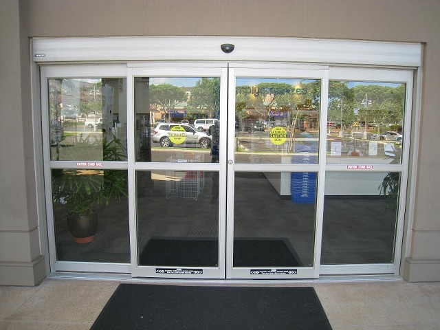 wcif automatic sliding glass doors for