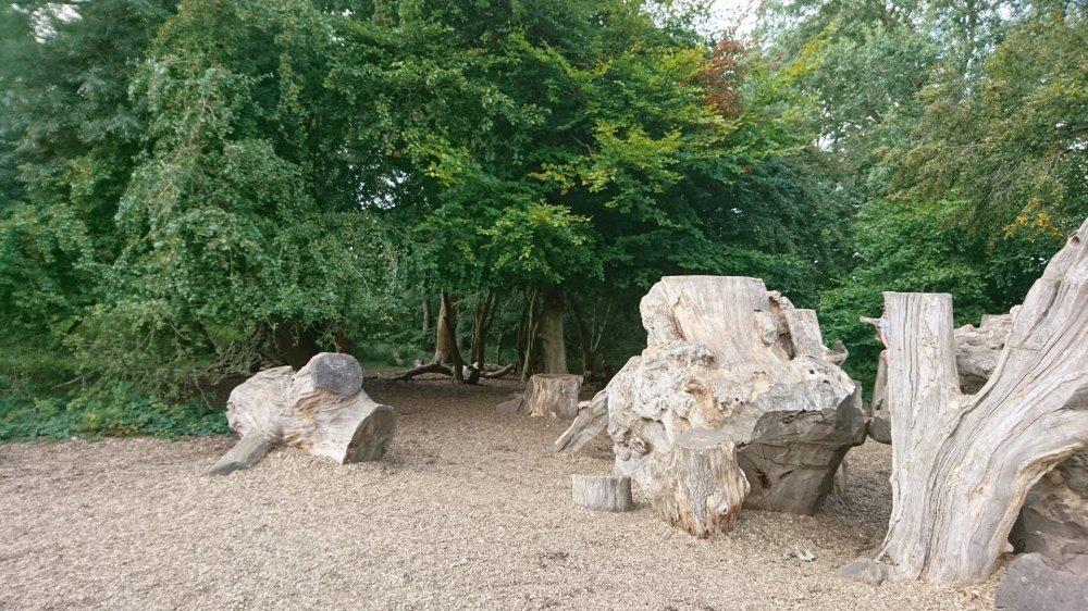 The children's play area at Ashridge