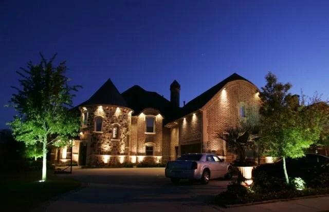 exterior security lighting