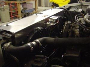 Electric Fan Conversion Chevy Truck | Electric Radiator Fan