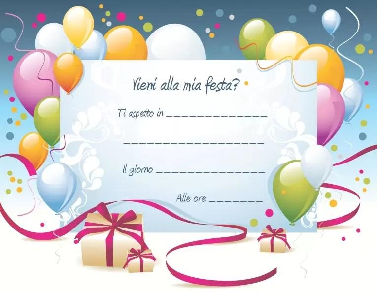 Biglietti Invito Compleanno Creare