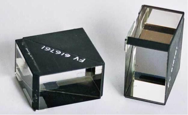 Beam splitter cuboid