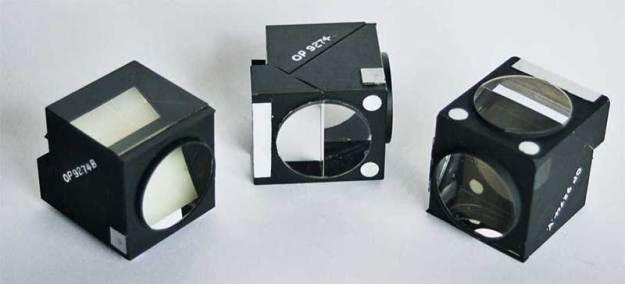 Multiple prism cube