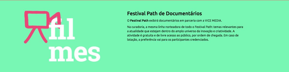 Festival Path Filmes Documentarios
