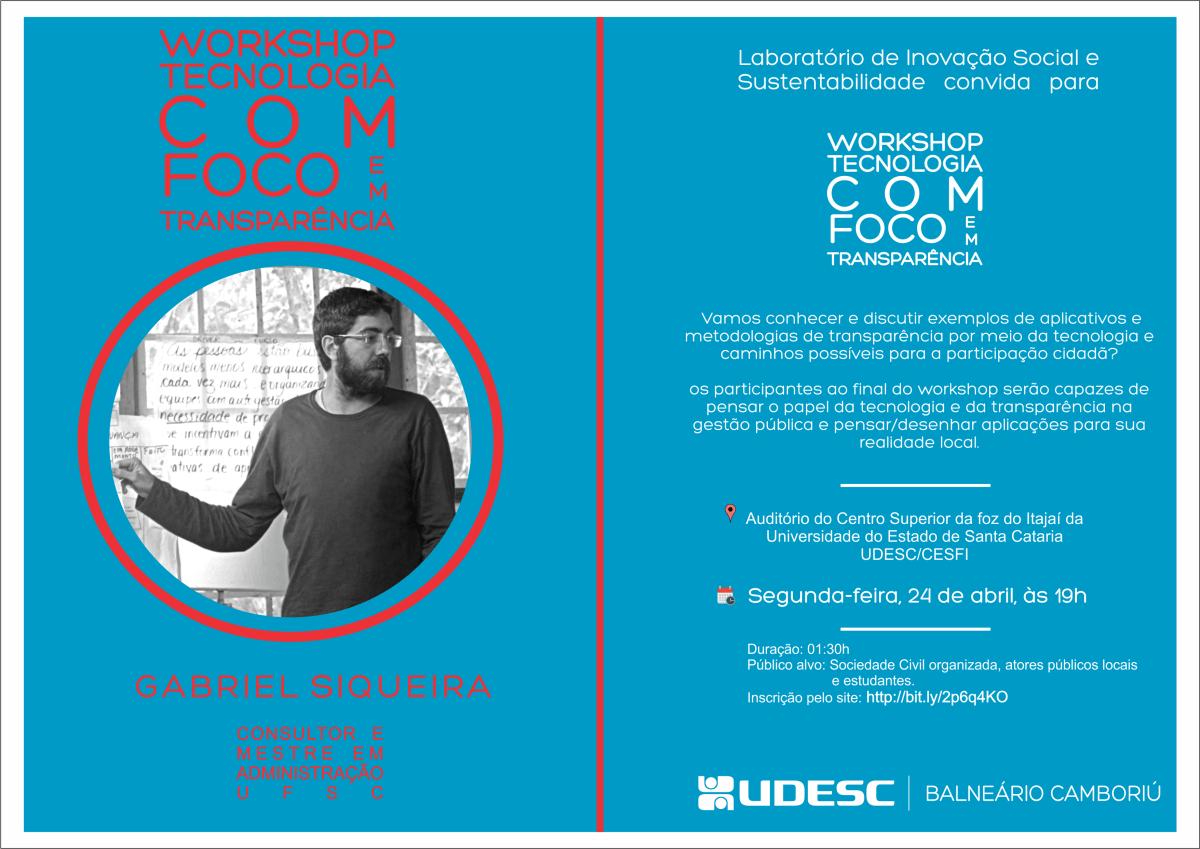 Workshop Tecnologia e Cidadania