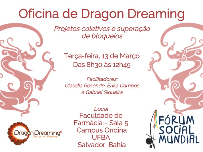 Dragon Dreaming Forum Social Mundial 2018