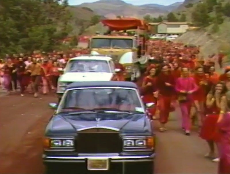 Rajneesh comprou quase 100 Rolls-Royces