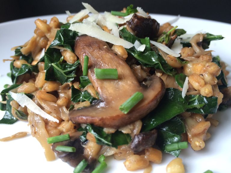 double-mushroom-farro