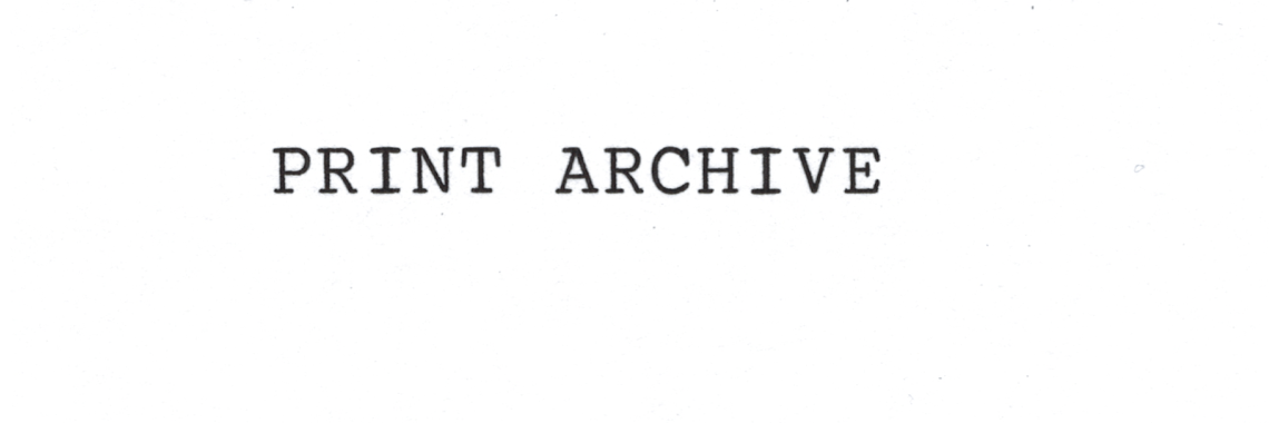 print archives