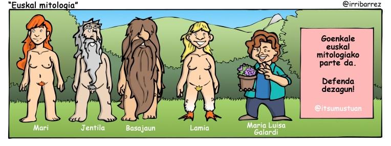 euskal mitologia