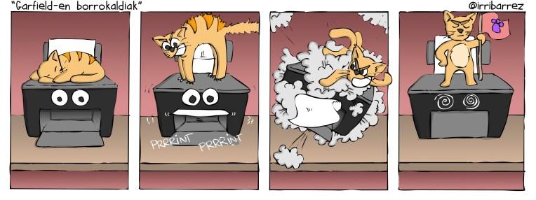 Garfielden borrokaldiak