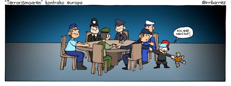 terrorismoaren kontrako europa