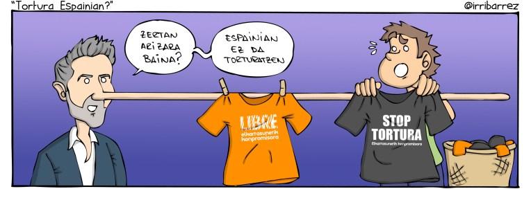 Tortura Espainian