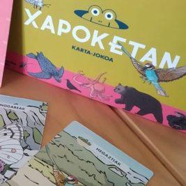 Euskal Herriko animaliak ezagutzeko karta jokua.