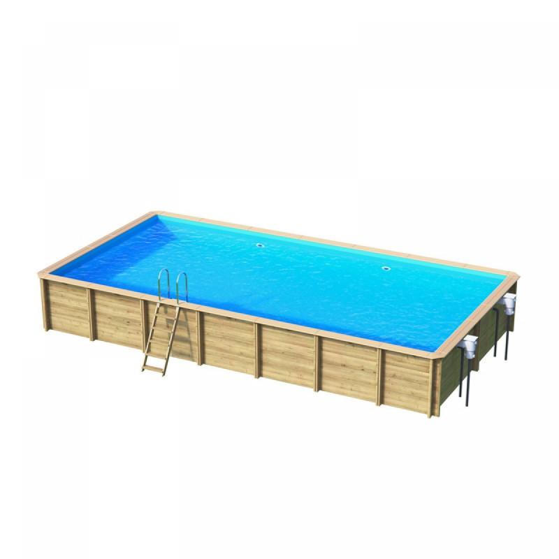 piscine bois hors sol 8 x 4 m