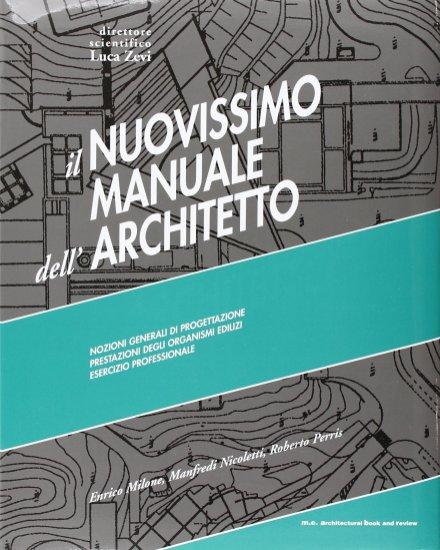 manuale architetto luca zevi
