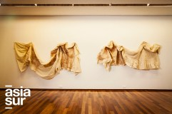 Otras obras de muestra El gesto fuerte, El gesto suave. Estructuras blandas y Transformaciones (Foto: Augusto Escribens)