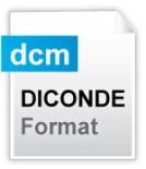 Diconde digital image storage