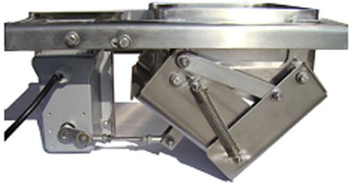 tolva de sincronización para maquinaria de envasado