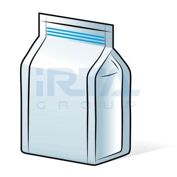 Block Bottom Bag 4 Seams – Zip Closure