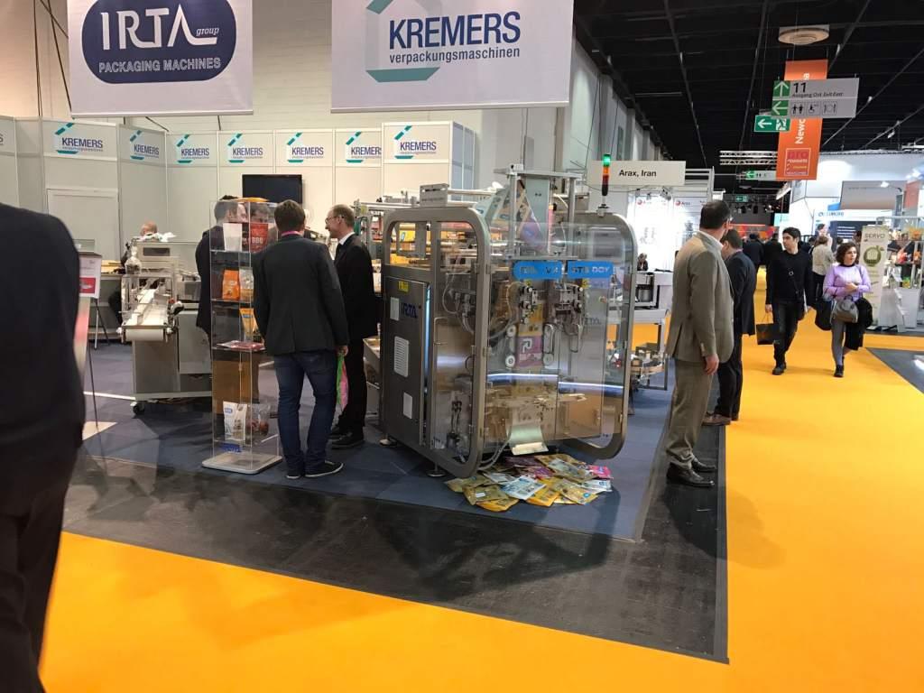 excelente aceptación de nuestras máquinas de envasado vertical (Vfss) en Prosweet (Vfss)