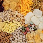 Snacks variados