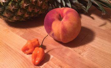 Peach Pineapple Habanero Rub