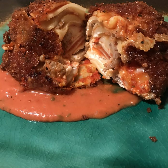 Deep Fried Lasagna