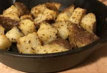Holy Cow Cast Iron Potatoes