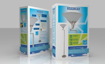 Energy Saver Brand Design (3-d rending)