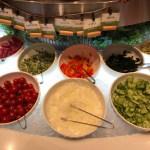 アウトレット入間のブッフェザフォレストのサラダ