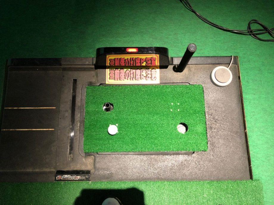 ゴルフパートナーインドアゴルフのティーアップ