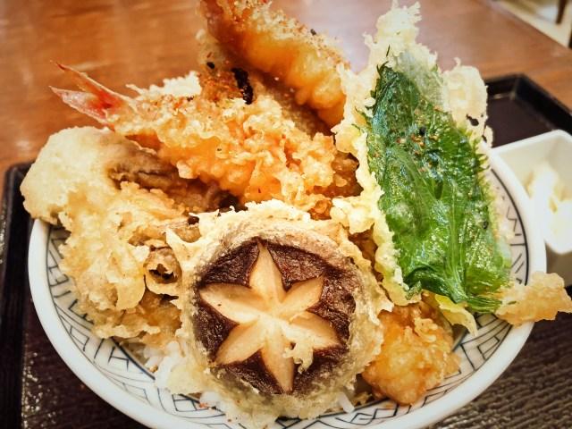 三井アウトレットパーク入間のてん松の天丼2