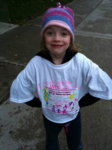 Cassidy Smyth Run For The Cure 2011
