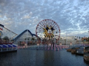 Saw Paradise Pier for the first time