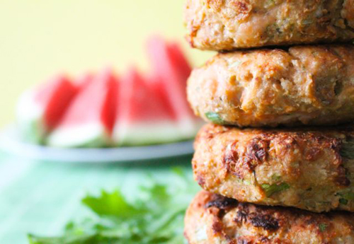 Dill and Cucumber Salmon Patties 2