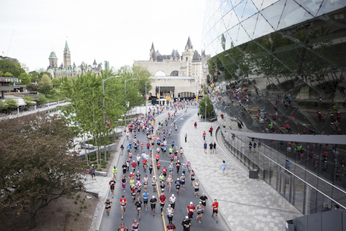 Ottawa Marathon May 24 2015  © Photo by Francois Laplante / Rémi Theriault