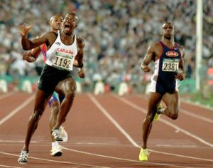 Donovan Bailey's Olympic Record 9.84